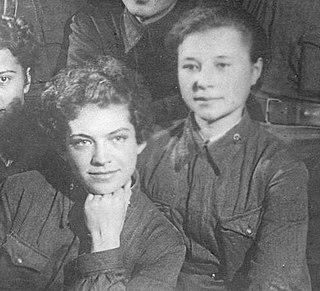 Soviet women in World War II important social group in World War II