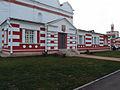 Николо-Пешношский монастырь, вход в Собор Николая Чудотворца со стороны входа в монастырь.jpg