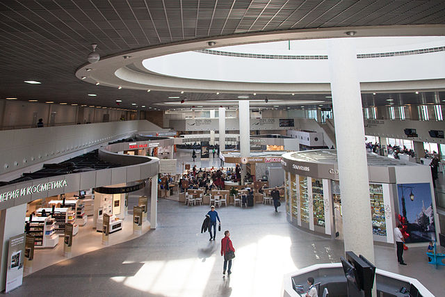 Впассажирском терминале Пулково обследовали подозрительную сумку