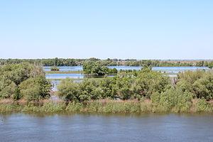 Akhtubinsky District - Akhtuba flood and Ashuluka