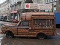 Россия, Москва, р-н Басманный - Белый город, ул.Мясницкая,24, машина-реклама, 08-56 25.02.2008 - panoramio.jpg