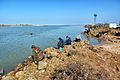 Рыбаки на Ясенской переправе.JPG