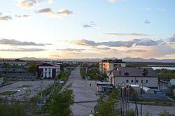 Сангар, Якутия. Улица Ленина (2).jpg