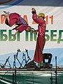 Цирк Весар (Архангельск) на Илимпиаде в Коряжме, 2011 (01).JPG