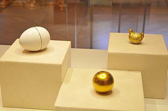 "Fabergé egg - Image: Яйцо ""Курочка"""