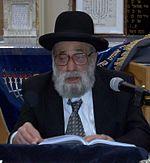 הרב יהודה מועלם במסירת שיעור