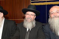 הרב יגאל לרר בישיבת מרכז הרב