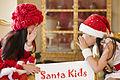 แอบเม้าส์ คณะผู้จัดงาน Santa Kids ทูตน้อยเพื่อเพื่อน - Flickr - Abhisit Vejjajiva.jpg