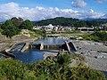 下渕頭首工 Shimobuchi sluice gate 2012.9.16 - panoramio.jpg
