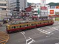 京阪石山坂本線「特急色」.JPG