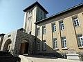 旧間島総領事館の中央に塔を頂く.jpg