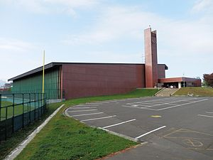 Mikaho Gymnasium - Image: 札幌市美香保体育館