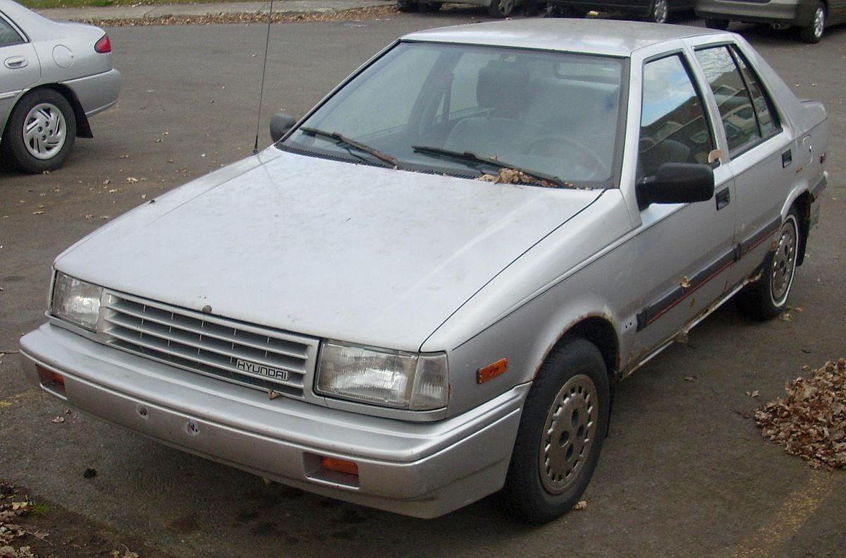 Px Hyundai Excel Sedan on 1996 Hyundai Elantra