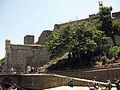 001 Castell Reial, façana nord, vora la riera del Dui.jpg