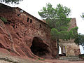 106 Balma a l'entrada del santuari de la Mare de Déu de la Roca (Mont-roig del Camp).JPG
