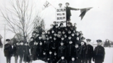 118th Battalion soldiers in Victoria Park, Berlin, Ontario.webp