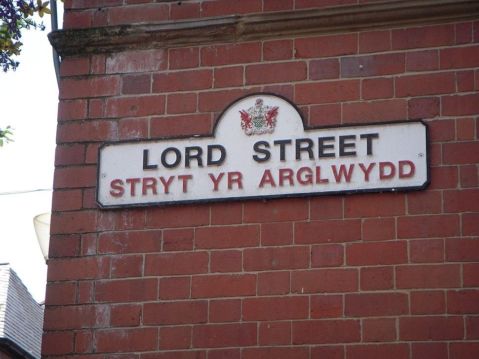 130711 Wrexham sign