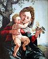 1528 van Scorel Die Madonna mit den Feldblumen anagoria.JPG
