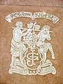 156 Cal Gibert, c. Dr. Ferrer i Solervicens 10 (Artés), esgrafiat.jpg