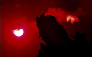 Solar eclipse of January 15, 2010 - Image: 15 jan 10 eclipse srilanka jaffna nallur