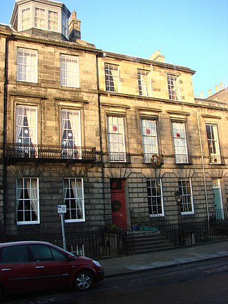 Thomas Stevenson - 17 Heriot Row, Edinburgh