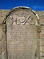1755 gravestone at St Fergus kirkyard - geograph.org.uk - 726303.jpg