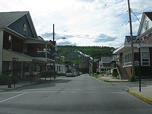 Roaring Spring, Pennsylvania - Main Street at Girard Street