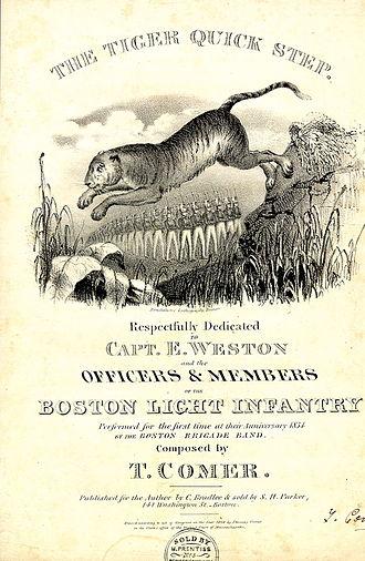 Boston Brigade Band - Tiger Quick Step, 1834