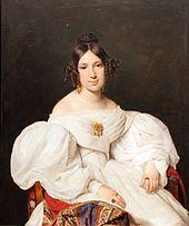 Bildnis der Louise Mayer, 1836, Germanisches Nationalmuseum, Nürnberg (Quelle: Wikimedia)