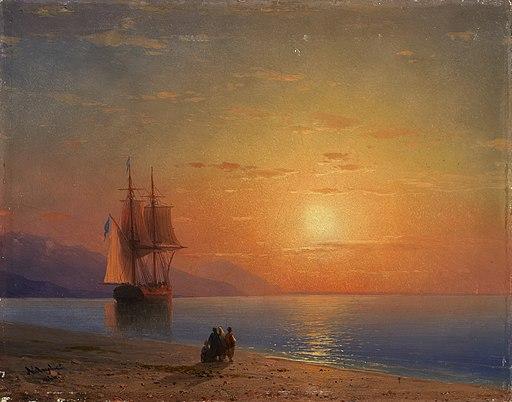 1864 Aivazovsky Meer anagoria