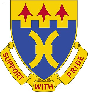 187th Infantry Brigade (United States) - Image: 187th Support battalion