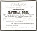 1898-03-22 Todes-Anzeige Mathias Doll (Ingolstädter Tagblatt).png