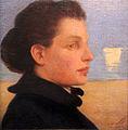 1901 Cissarz Bildnis einer Frau vor dem Meer anagoria.JPG
