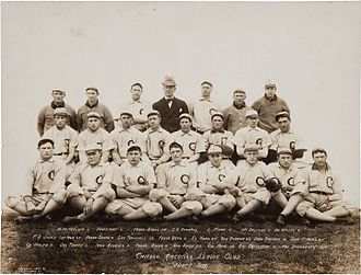 Chicago White Sox - 1906 White Sox, with club founder Charles Comiskey