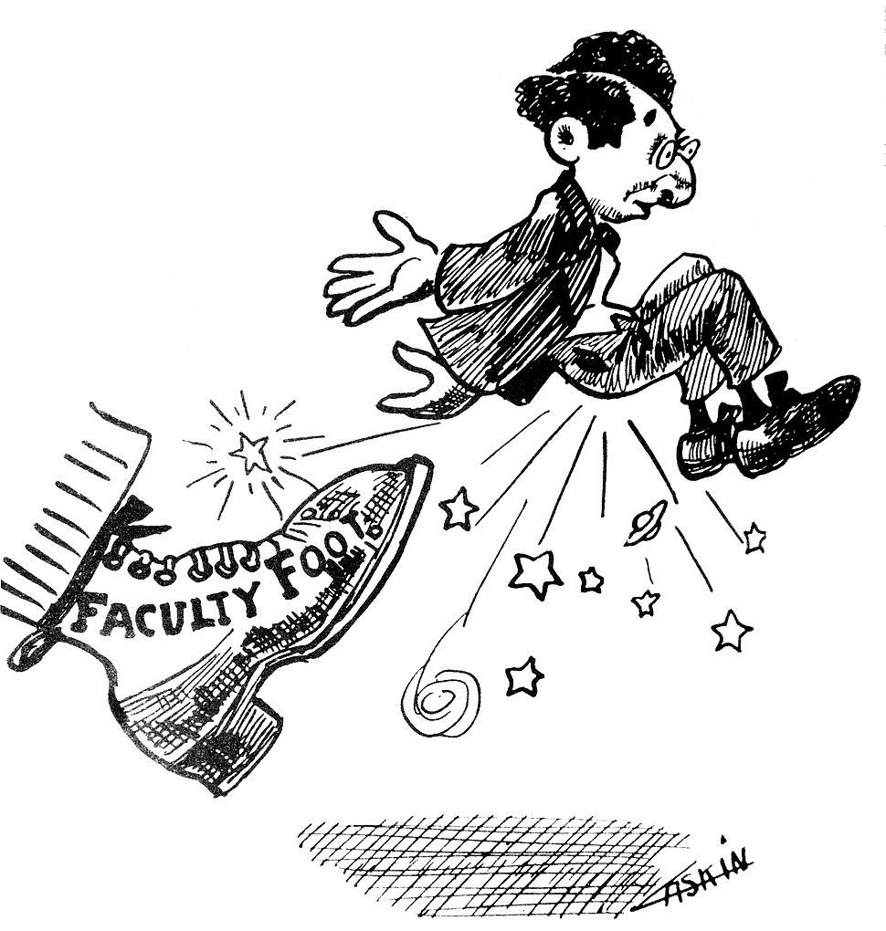 1909 Tyee - Faculty Foot