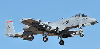 124th Fighter Wing - 190th Fighter Squadron A-10 A-10A Thunderbolt II, AF Ser. No. 78-0584
