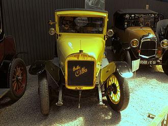 Alba (1913 automobile) - Bobby Alba