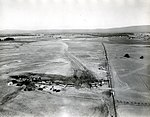 1949. Airstrip for western spruce budworm control project. Mt. Hood area, OR. (32832921781).jpg
