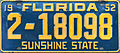 1952 Florida license plate.JPG