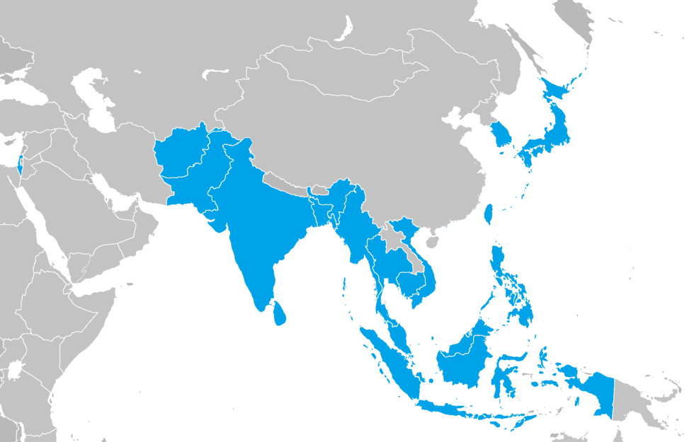 1954 Asian Games participating countries