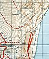 1961 Military Map of Gibraltar (south east).jpg