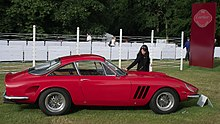 Ferrari 250 GT Lusso with modified bodywork by Fantuzzi and Meade