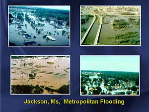 1979 Easter flood - Image: 1979 Easter Flood Jackson Mississippi 2