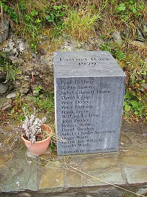 1979 Fastnet race - Memorial to those who died in the 1979 Fastnet race, Lissarnona, Cape Clear Island, Cork, Ireland