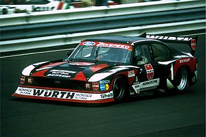 Jochen Mass - Mass with Ford Capri Turbo at the Nürburgring in 1980