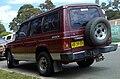 1990 Mitsubishi Pajero (NG) Superwagon wagon (2008-11-04).jpg