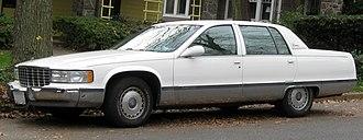 Cadillac Fleetwood - 1993-1996 model