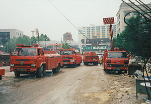 SsangYong Motor - Firetrucks produced by SsangYong and its predecessor, Dong-A Motor.