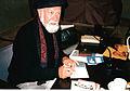 1996-06-19 Der Autor und Rabbiner Elazar Benyoëtz in Hannover (10).jpg