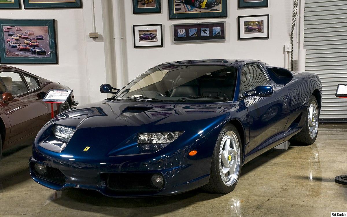 Ferrari California Blue Paint Code